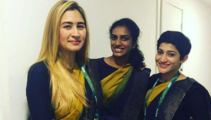 The saree conundrum at Commonwealth Games: It's comfort over convention for quite a few