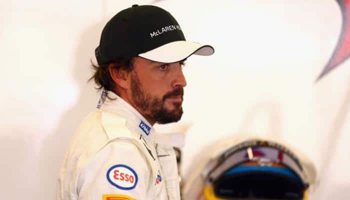 McLaren-Renault confirm Fernando Alonso to train at Barcelona-Catalunya Circuit