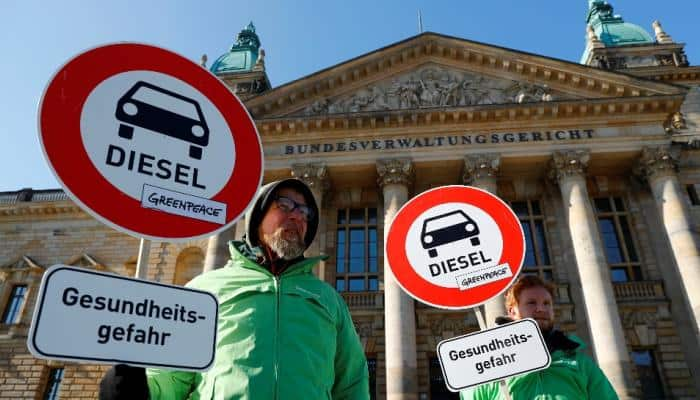 Top German court rules in favour of cities to ban diesel cars
