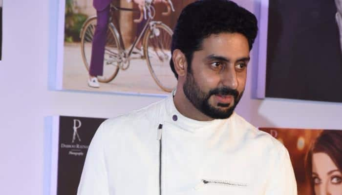 Abhishek Bachchan faces camera after two-year hiatus