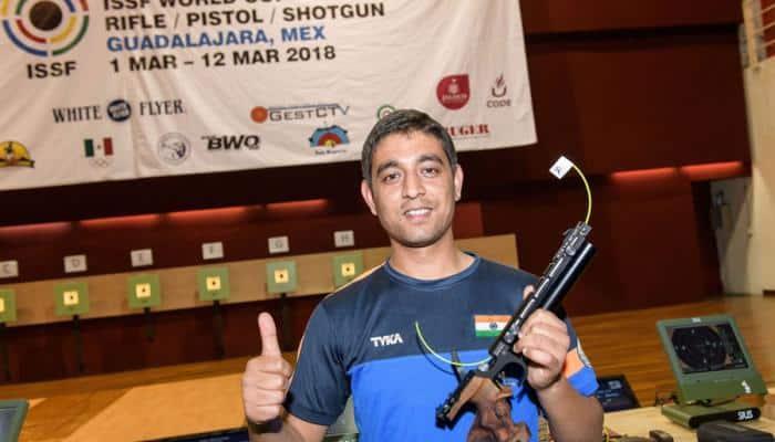 Shahzar Rizvi shoots world-record gold in maiden World Cup