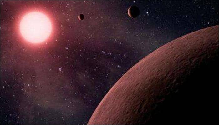 Astronomers discover three super-Earth exoplanets orbiting star