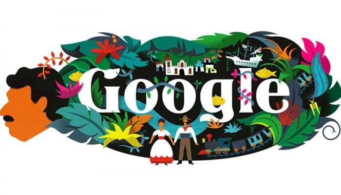 Google Doodle celebrates 91st birth anniversary of Gabriel García Marquez