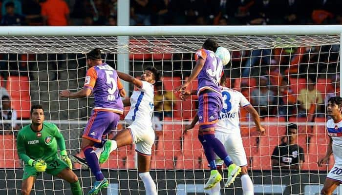 Favourites Bengaluru FC take on doughty FC Pune city in first leg semi-final
