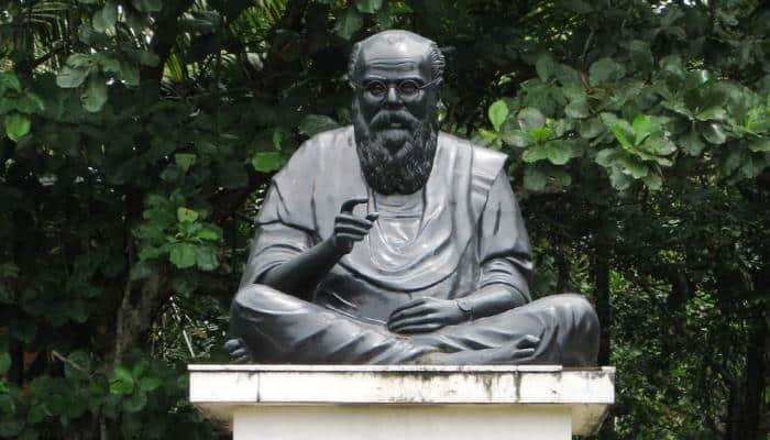 Two drunk men - 1 from BJP, other from CPI - arrested for allegedly vandalising Periyar statue in Tamil Nadu