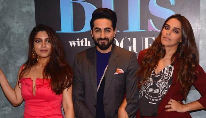 Ayushmann Khurrana 'embarrasses' Bhumi Pednekar by revealing 'details' about her love life on Neha Dhupia's BFFs with Vogue