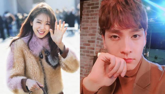 Popular Korean stars Choi Tae Joon and Park Shin Hye are dating