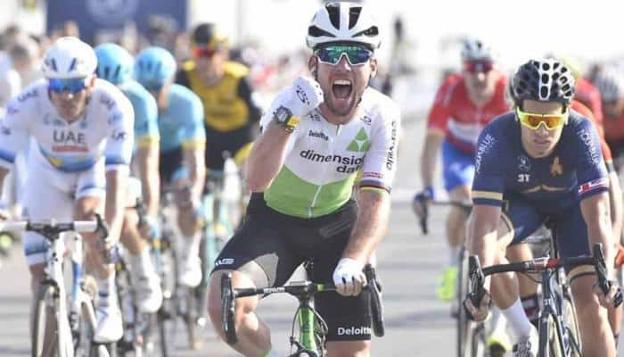 British sprint king Mark Cavendish breaks rib in crash, out of week-long Tirreno-Adriatico stage