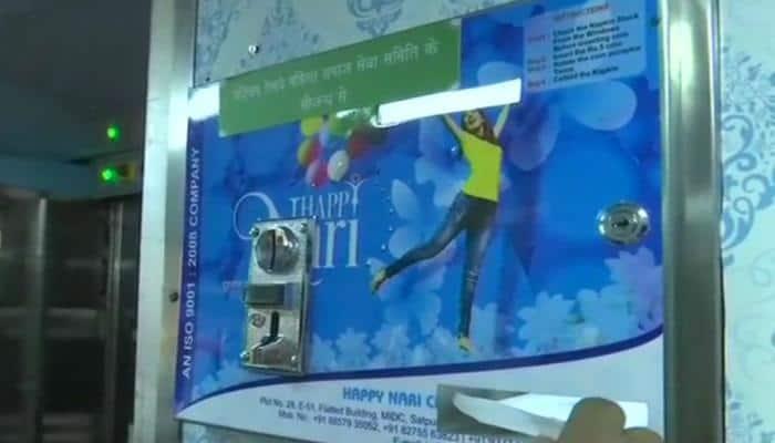 In a first, Railways installs sanitary pad dispensers in Rajdhani Express