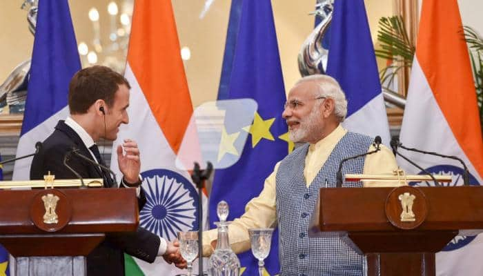 India, France ink key security accord to counter China's influence in Indian Ocean