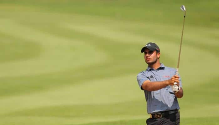 Shubhankar Sharma holds his own to card 72, stays in joint lead at Hero Indian Open