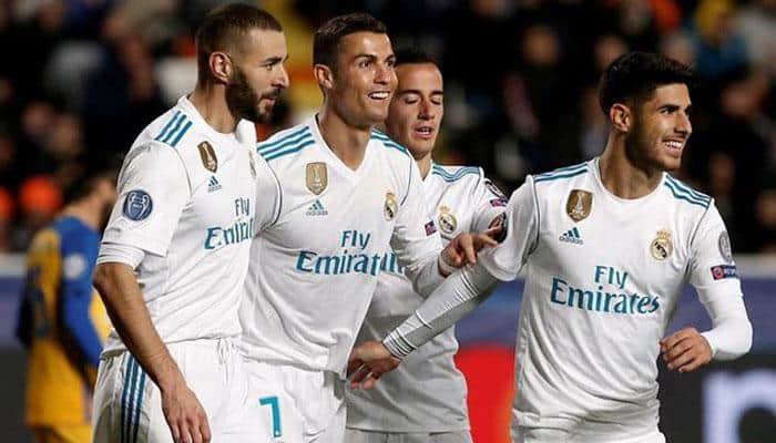Cristiano Ronaldo brace helps Real Madrid claim narrow win over Eibar