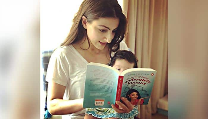 Soha Ali Khan worried over daughter Inaaya's popularity on social media