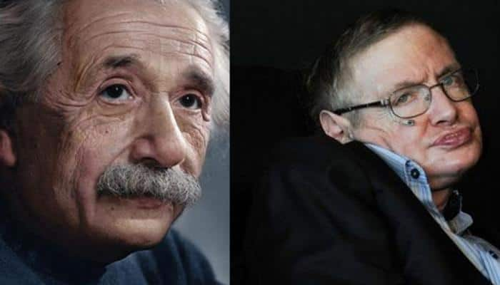 Stephen Hawking and Albert Einstein share a significant date