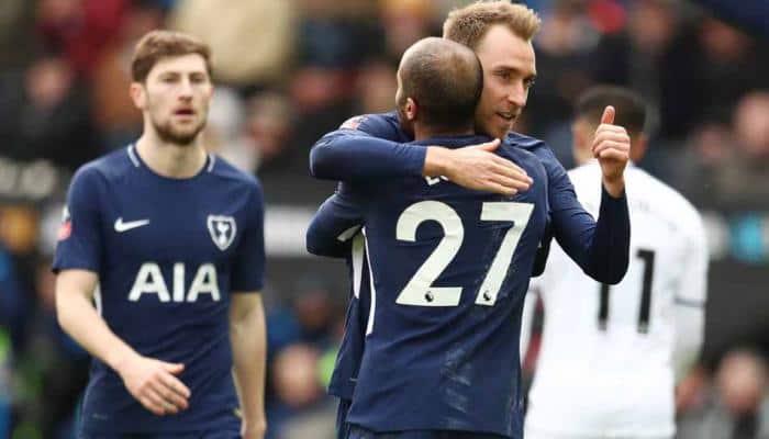 Christian Eriksen double sends Tottenham Hotspur into FA Cup semis