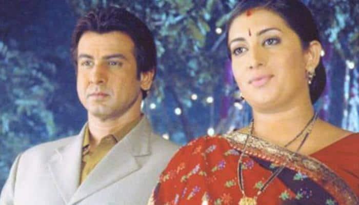 Ronit Roy's wish for Smriti Irani will remind you of their 'Kyunki Saas Bhi Kabhi Thi' days