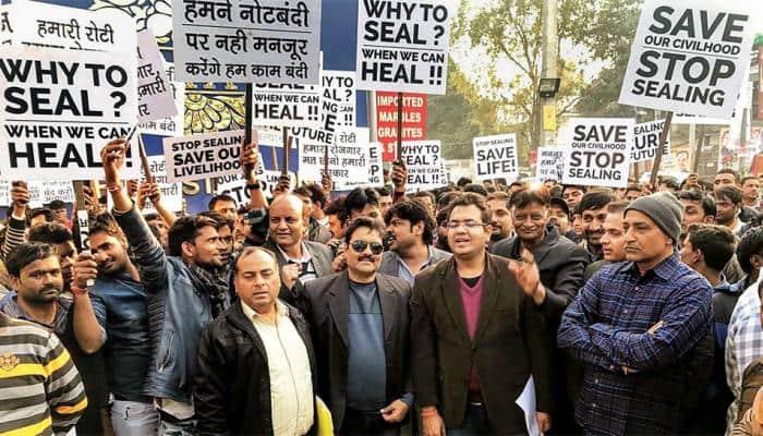 Delhi traders call for bandh against sealing drive, to launch mega rally at Ramlila maidan on Wednesday