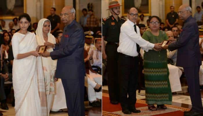President Ram Nath Kovind presents Gallantry Awards and Distinguished Service Decorations - Pics