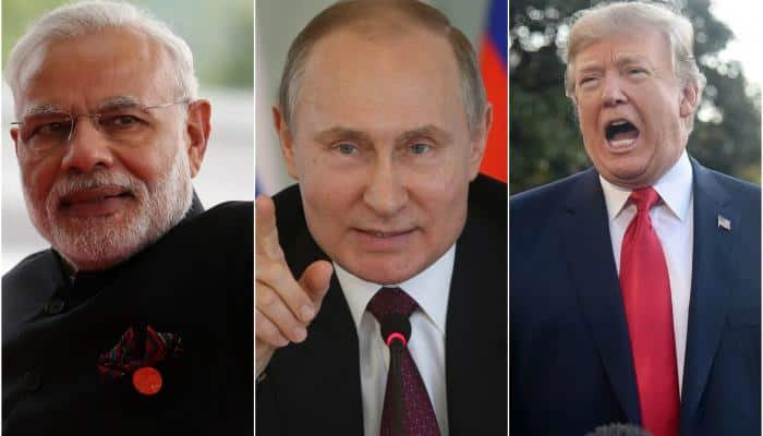 Narendra Modi, Vladimir Putin, Donald Trump in TIME's most influential people's list