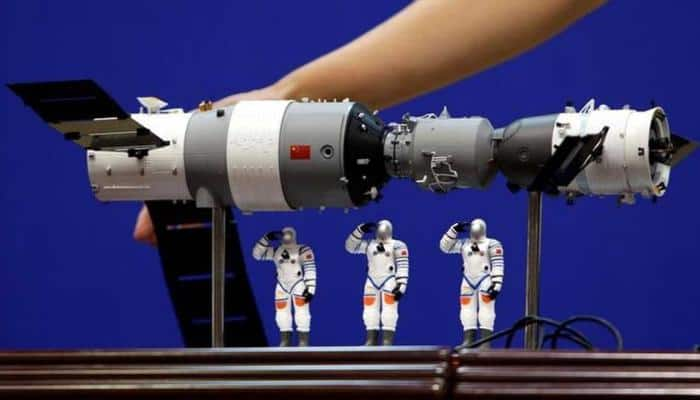 Defunct Chinese space lab plunges back to Earth