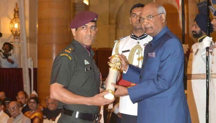 Cricketer MS Dhoni, cueist Pankaj Advani, others conferred Padma awards: Here's the full list