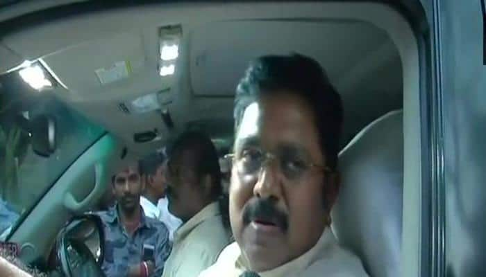 Cauvery water row: Police detains TTV Dhinakaran for gheraoing Trichy airport
