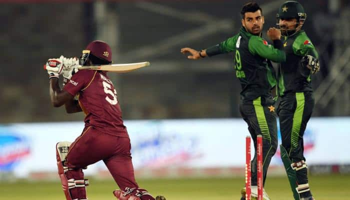 Pakistan vs West Indies: Shadab Khan fined for send-off to Chadwick Walton