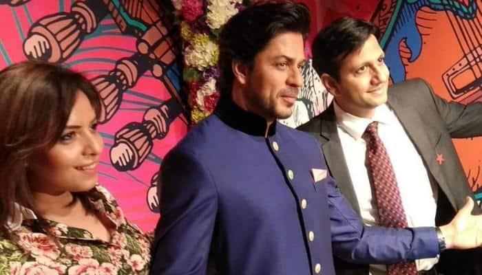 Shah Rukh Khan's wax figure unveiled at Madame Tussauds Delhi