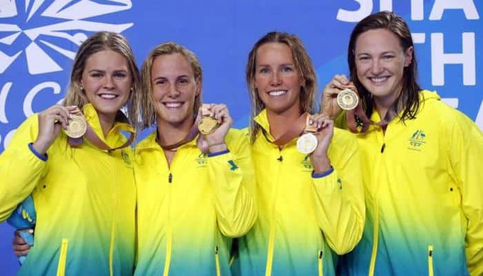 CWG 2018: Campbell sisters power Australia to swimming world record
