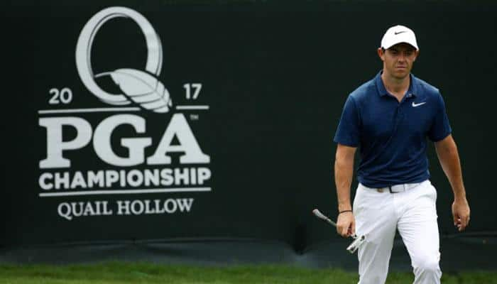 Rory McIlroy leads with Matt Kuchar in second round of Augusta National