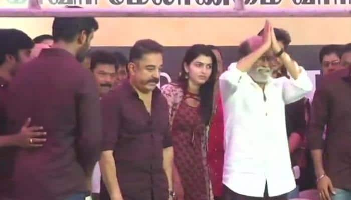 Rajinikanth, Kamal Haasan, Dhanush join Tamil stars in Cauvery board protests