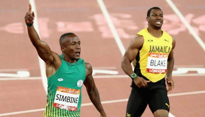 All-over-the-place Yohan Blake blames stumble for 100m shock