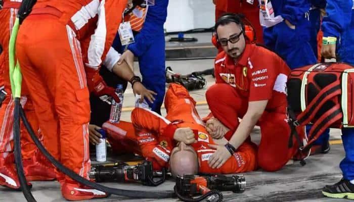 Injured F1 mechanic in Bahrain successfully undergoes surgery: Ferrari