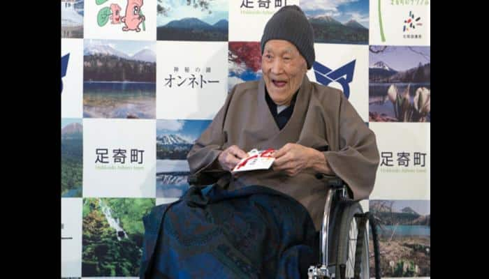 Meet 112-year-old Masazo Nonaka, the world's oldest man from Japan