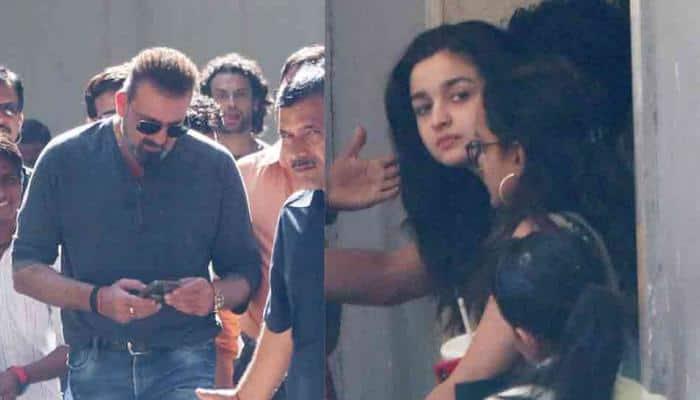 Sadak 2: Sanjay Dutt, Alia Bhatt spotted outside Mahesh Bhatt's office — See pics