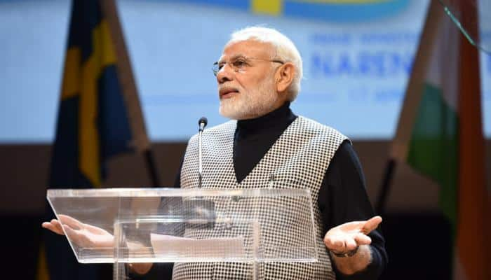Road ahead is long, but we have determination in heart: Modi to Indian diaspora in Sweden