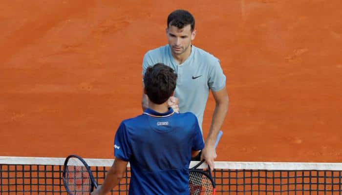 Grigor Dimitrov, Dominic Thiem survive early scares at Monte Carlo Masters