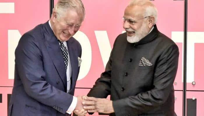PM Narendra Modi meets Prince Charles, set to meet Queen Elizabeth II at Buckingham Palace