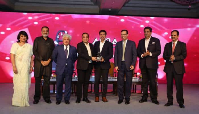 Mr. Punit Goenka honoured with 'Outstanding Contribution to Media' Award at AIMA Managing India Awards 2018