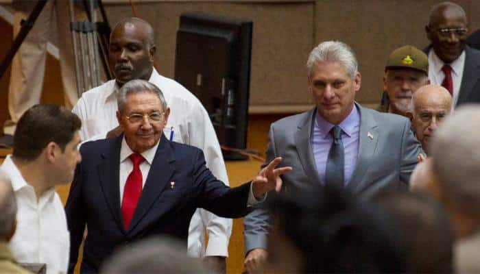 Cuba marks end of an era as Raul Castro hands over to Miguel Diaz-Canel