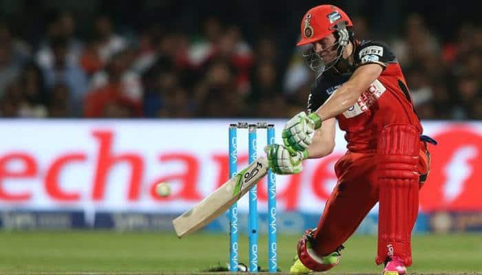 IPL 2018: RCB hitman AB de Villiers smashes longest six of the season in 23-ball half-century