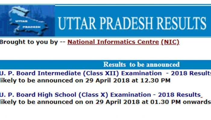 UP Board Class 12th (Intermediate) Result 2018: Check upresults.nic.in on 29th April