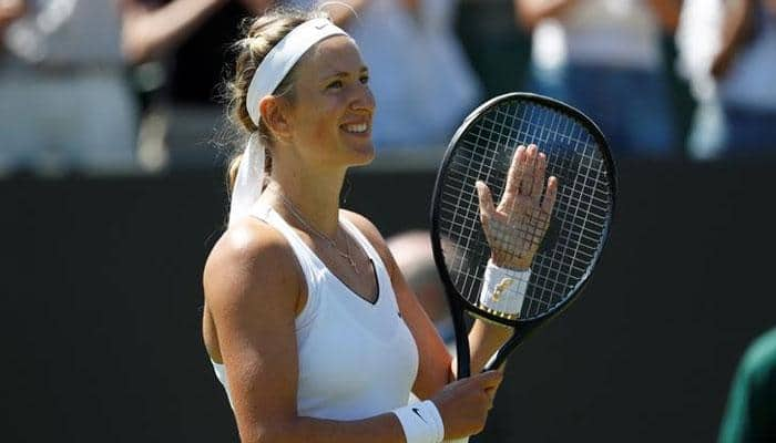 Victoria Azarenka back in Europe after US custody battle
