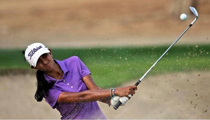 Aditi Ashok in shared lead at weather-hit LPGA event