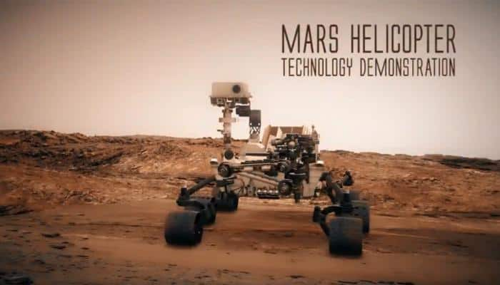 In an interplanetary first, NASA to fly remote-controlled helicopter on Mars