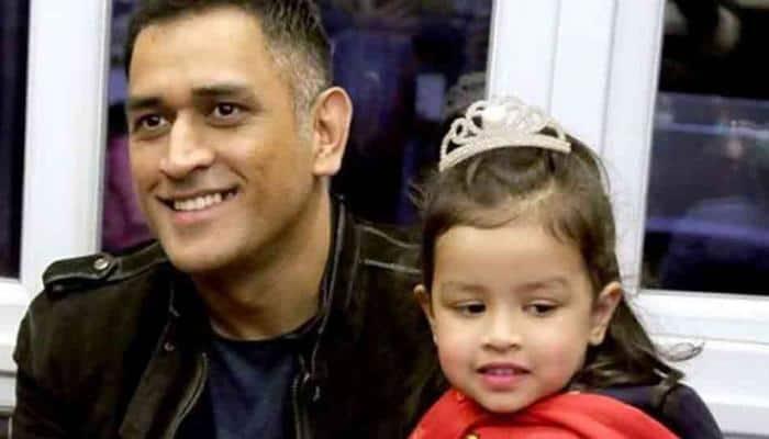 Mahendra Singh Dhoni's daughter Ziva dances to DJ Bravo's 'Champion' –Watch video