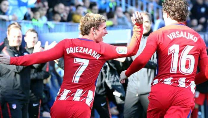 Antoine Griezmann declines to talk about his future at Atletico