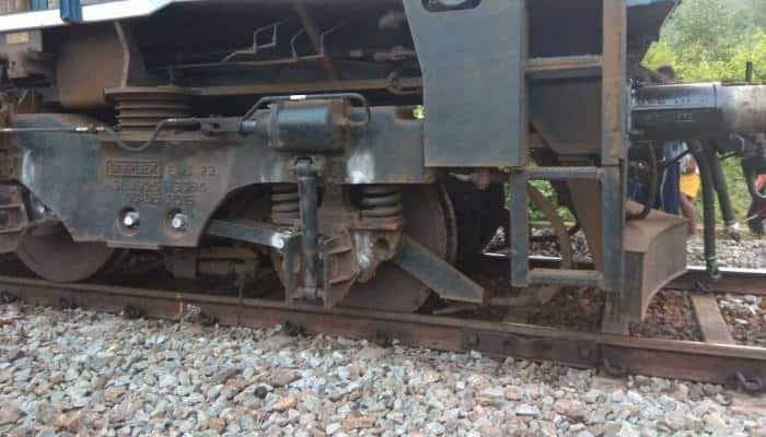 Locomotive engine derails in Odisha, no casualty reported
