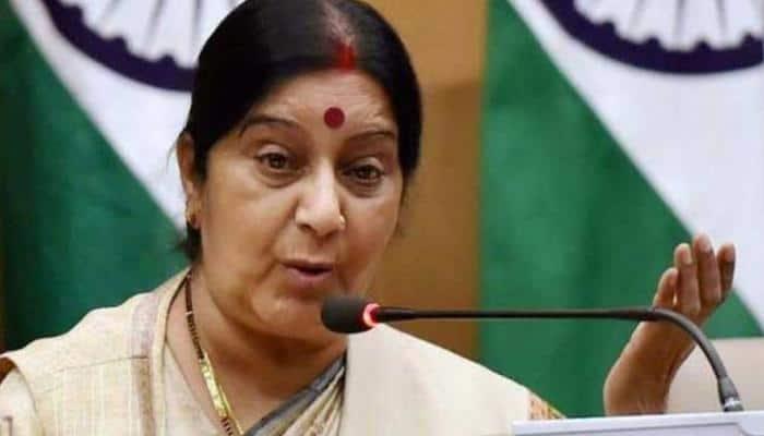 Sushma Swaraj assures help to Indians stranded at Bishkek airport