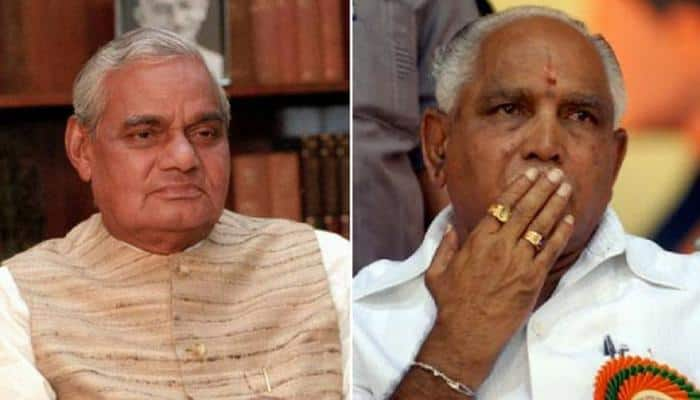 Deja vu for BJP? 13 days for Atal Bihari Vajpayee in 1996, 2 days for Yeddyurappa now